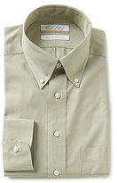 Roundtree & Yorke Gold Label Non-Iron Regular Full-Fit Button-Down Collar Pinpoint Dress Shirt
