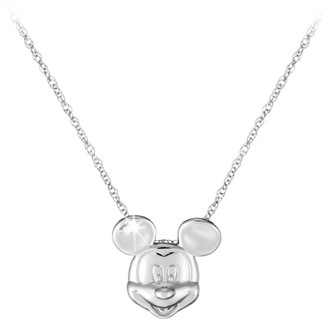 Disney Mickey Mouse Necklace Mickey Face