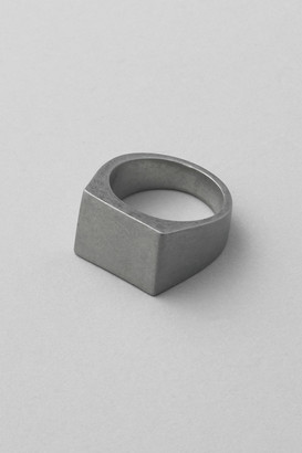 Weekday Agnes Signet Ring - Silver