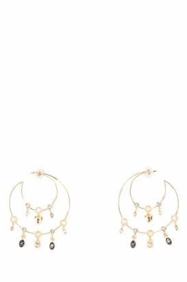 Swarovski Magnetic Hoop Earrings