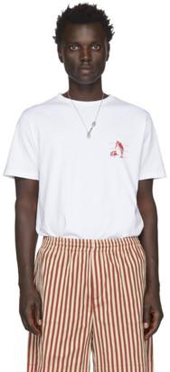 Loewe White William De Morgan Print T-Shirt