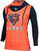 COLLEGE CONCEPTS INC Women's College Concepts Chicago Bears NFL Long-Sleeve Vortex T-Shirt