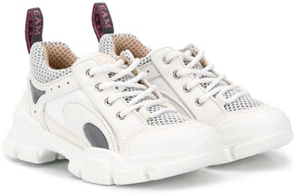 Gucci Kids Lace Up Sneakers
