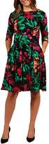 MONETA 24/7 Comfort Apparel Islamorada Dress