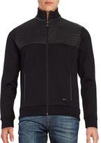 HUGO BOSS Pizzoli Zip Front Sweater