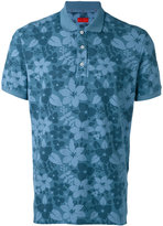 Isaia floral polo shirt - men - Cotton - M