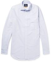 Drakes Drake's - Easyday Striped Cotton Oxford Shirt