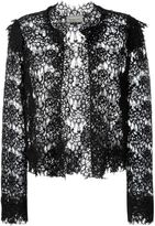 Lanvin lace cropped jacket