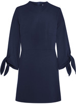 Tibi Jersey Mini Dress - Storm blue