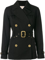 MICHAEL Michael Kors double breasted jacket - women - Cotton/Polyester/Spandex/Elastane - S