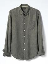 Banana Republic Camden-Fit Saturated Linen Shirt