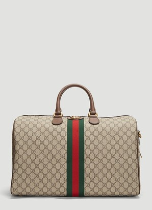Gucci GG Supreme Ophidia Medium Carry-On Duffle Bag