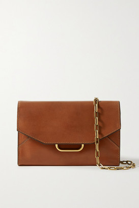 Isabel Marant Kyloe Leather Shoulder Bag - Tan