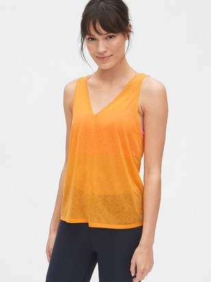 Gap GapFit Tissue V-Neck Tank Top