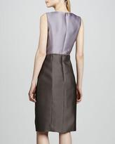 Carolina Herrera Beaded Sheath Dress