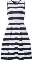 Carolina Herrera striped knit dress - women - viscose/polyester - XL