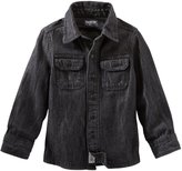 Osh Kosh Little Boys' Pocket Denim Shirt - Youth