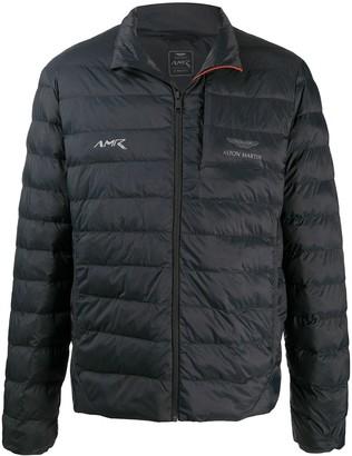 Hackett Aston Martin Racing quilted jacket