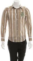Just Cavalli Striped Button-Up Shirt