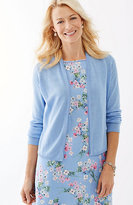 J. Jill Delicate-Trim Perfect Cardi