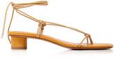 LOQ Dora Leather Lace-Up Sandals