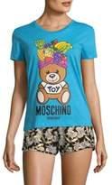 Moschino Short Sleeve Cotton T-Shirt