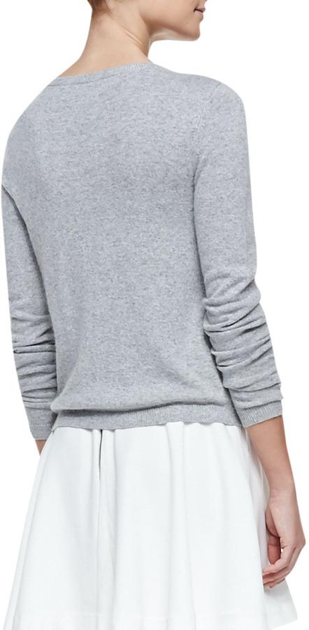 Alice + Olivia Stace Face Knit Cardigan