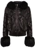 Elie Saab Fur Detailed Jacket
