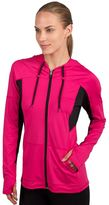 Jockey Women's Sport Full-Zip Workout Hoodie