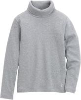 Petit Bateau Stretch jersey polo neck sweater