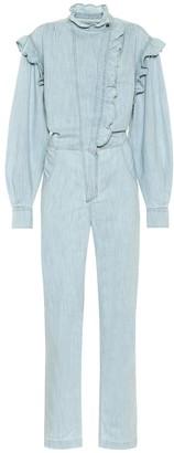 Etoile Isabel Marant Gayle chambray jumpsuit