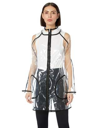 Calvin Klein Women's Transparent Raincoat