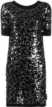 Love Moschino Sequin Embellished Dress