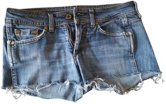 Mauro Grifoni Blue Denim - Jeans Shorts for Women
