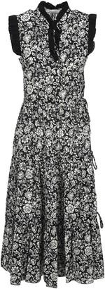 See by Chloe graphic Peonies Print Dress