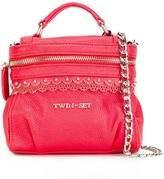 Twin-Set removable chain strap tote