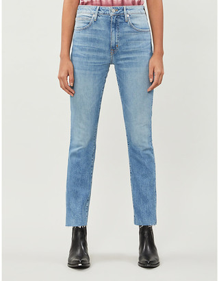 SLVRLAKE Sara straight high-rise jeans