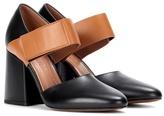 Marni Two-tone leather pumps