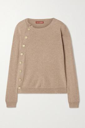 Altuzarra Minamoto Button-embellished Cashmere Sweater - Beige