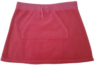Juicy Couture Pink Cotton Skirt for Women