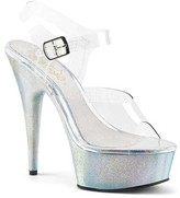 Pleaser USA Women's Delight 608HG Ankle-Strap Sandal