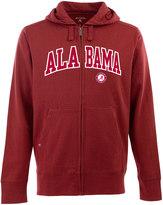 Antigua Men's Alabama Crimson Tide Signature Zip Front Fleece Hoodie