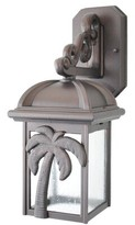 Penfield 1-Light Outdoor Wall Lantern Alcott Hill Finish: Architectural Bronze