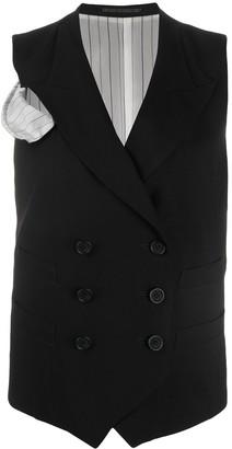 Yohji Yamamoto Double Breasted Waistcoat