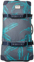 Burton New Women's Wheelie Double Deck 86L Travel Bag Mesh Tropical Print N/A