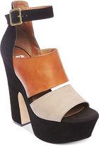 Steve Madden Women's Shoes, Shocker Platform Sandals