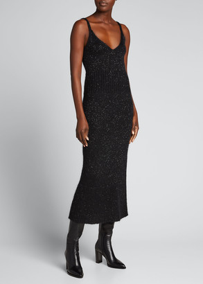 Altuzarra Sequined Sleeveless Midi Dress