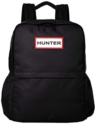 Hunter Nylon Backpack (Black) Backpack Bags