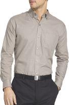 Van Heusen Long-Sleeve No Iron Button Front Shirt