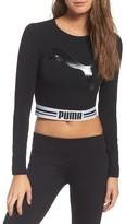 Puma Women's Cat Crop Tee